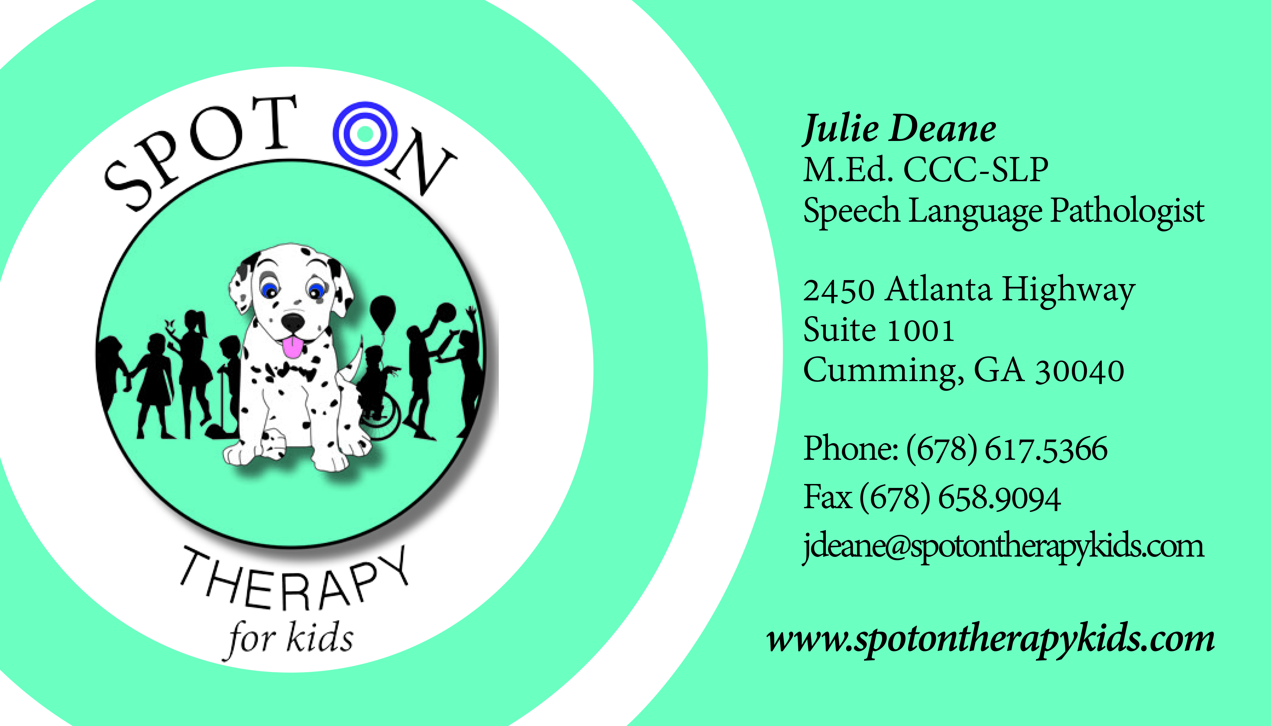 Awesome pics of georgia teaching certificate business cards and our team from georgia teaching certificate image source spotontherapykids xflitez Gallery